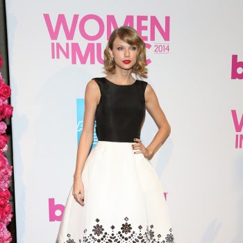 taylor-swift-oscar-de-la-renta-dress-black-white