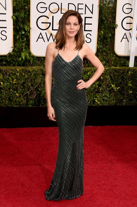 Michelle Monaghan wears Jason Wu at the 72nd Annual Golden Globe Awards