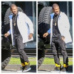 Usher Wearing  Kith and Kris Van Assche – Shopping in Beverly Hills