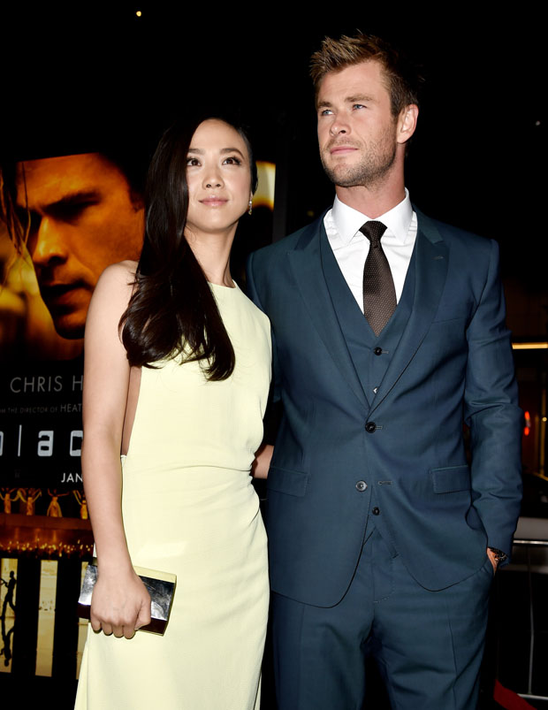 Tang Wei joined her co-star Chris Hemsworth f