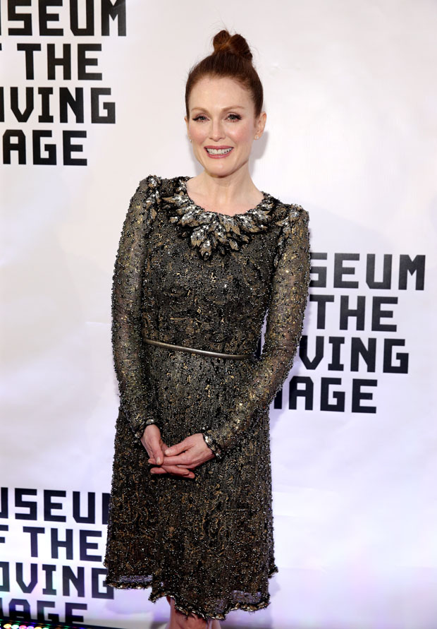 Julianne- Moore- In -Chanel Couture - at- Museum -Of -The- Moving -Image- Gala -Salute