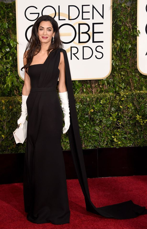Amal-Clooney-at-The-Golden-Globes-2015