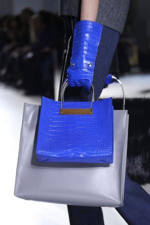 Balenciaga Indigo-Blue Shopping Tote Bag Fall 2014