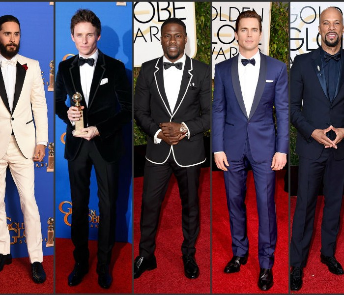 Best Dressed Men at the  Golden Globes Awards 2015