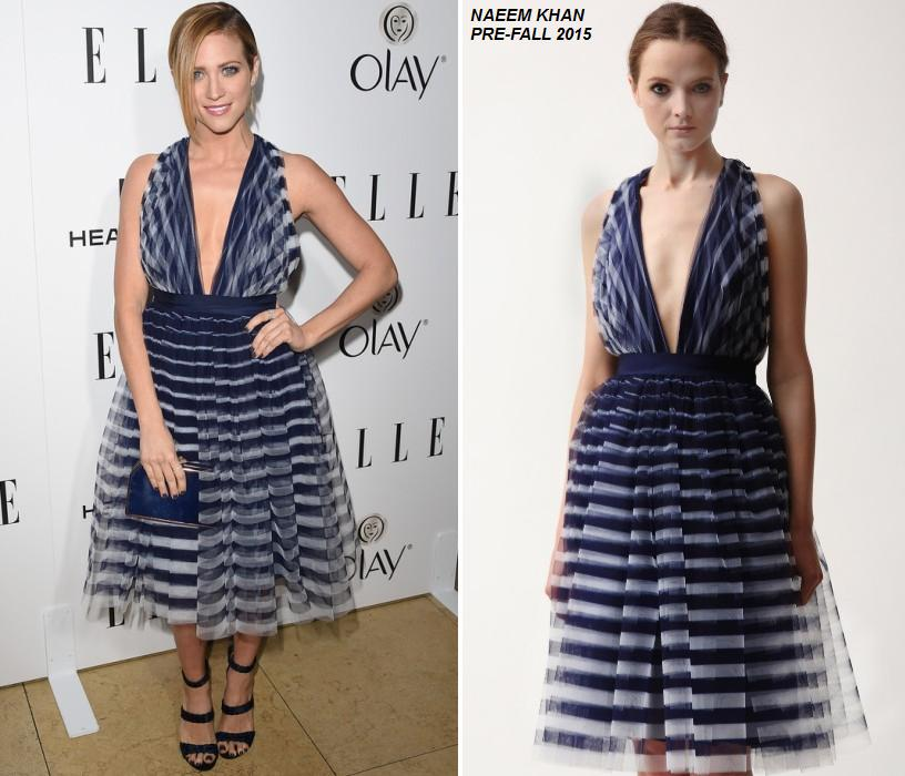 Brittany -Snow- 2015 -ELLE- Women- in -Television -Celebration