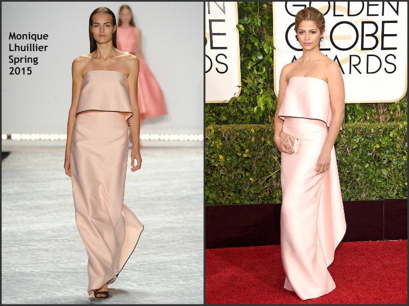 Camilla- Alves-in -Monique-Lhuiller-Golden-Globes-Awards-2015-Redcarpet