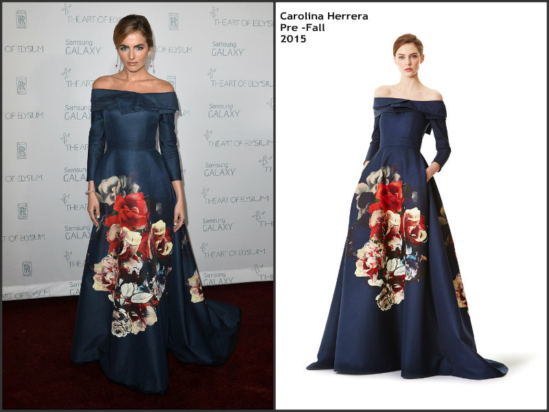 Camilla-Belle-wears-Carolina-Herrera-2015-Art-Of-Elysium-Heaven-Gala