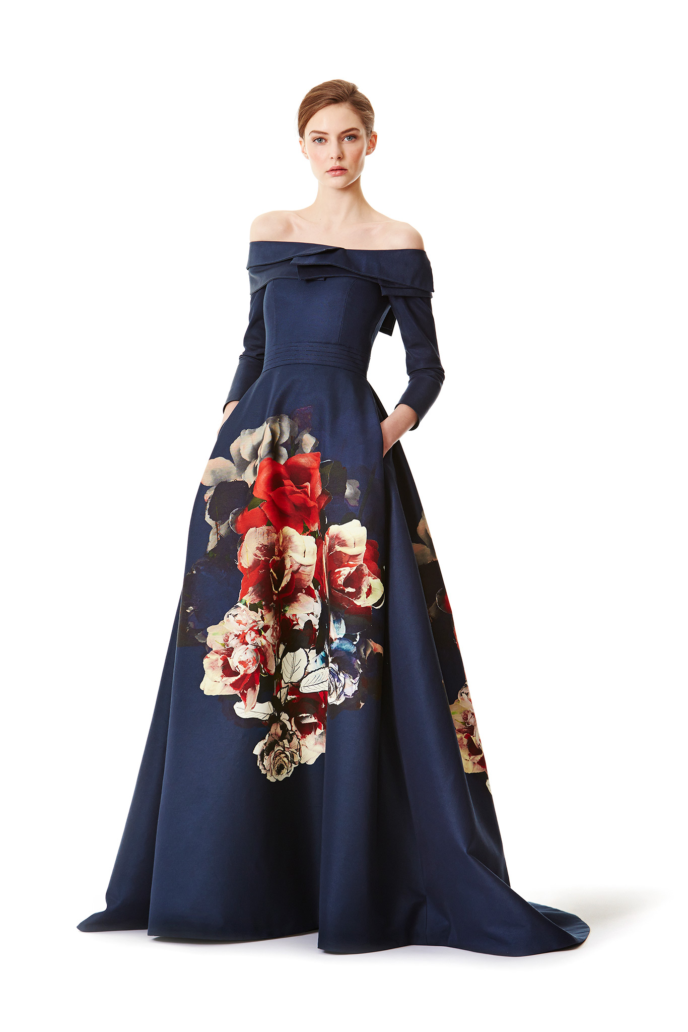 Carolina Herrera Pre-Fall 2015 gown
