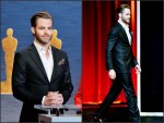 Chris Pine In Giorgio Armani – 87th Academy Awards Nominations Announcement