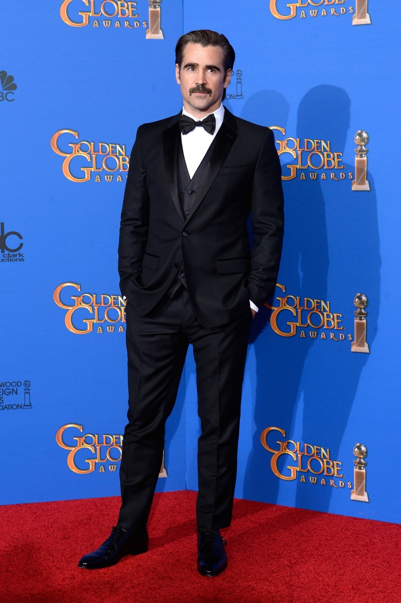 Colin Farrell in Dolce & Gabbana suit