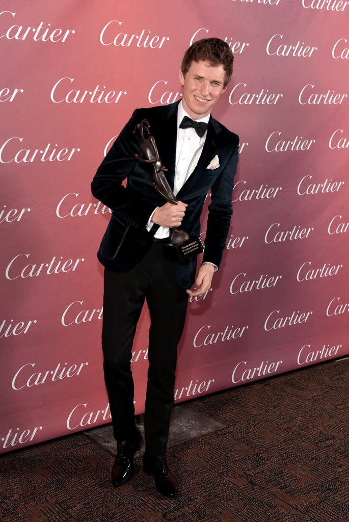 Eddie -Redmayne- in -Gucci- 26th -Annual -Palm -Springs International Film -Festival- Awards -Gala-