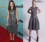 Emmy Rossum wears J. Mendel at the 'Shameless' Premiere