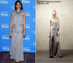 Freida Pinto in Mason by Michelle Mason at the 30th Santa Barbara International Film Festival Opening Night