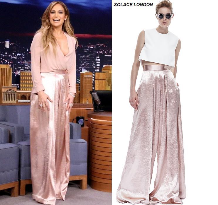 Jennifer -Lopez- in -Solace -London- at - 'The -Tonight- Show -Starring- Jimmy -Fallon'