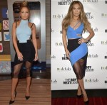 "Jennifer Lopez  wears  David Koma on Despierta America & ""The Boy Next Door' Miami VIP Screening"