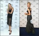 Karolina Kurkova wears  Haney & Zac Posen – IWC Booth & Gala Dinner