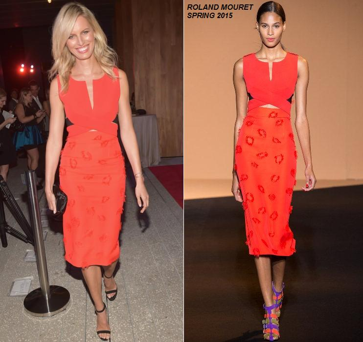 karolina-kurkova-roland-mouret-pamm-art-party-event