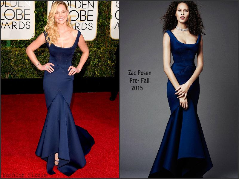 Katherine- Heigl- in Zac-Posen- Golden-Globes-Awards -2015
