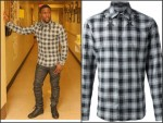 Kevin Hart In  Givenchy Classic Plaid Shirt,  Balmain Stretch Cotton Biker Jeans & Christian Louboutin Louis Men's Flat