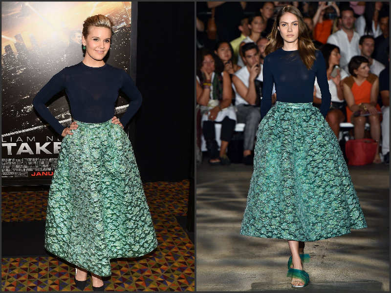Maggie-Grace-wears-Christian-Siriano-Taken -3-Fan-Event-New-York-Screening