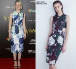 Mia Wasikowska in Josh Goot at the 4th AACTA Awards Ceremony