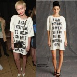 Miley Cyrus In Moschino – The Daily Front Row   'Fashion Los Angeles Awards'