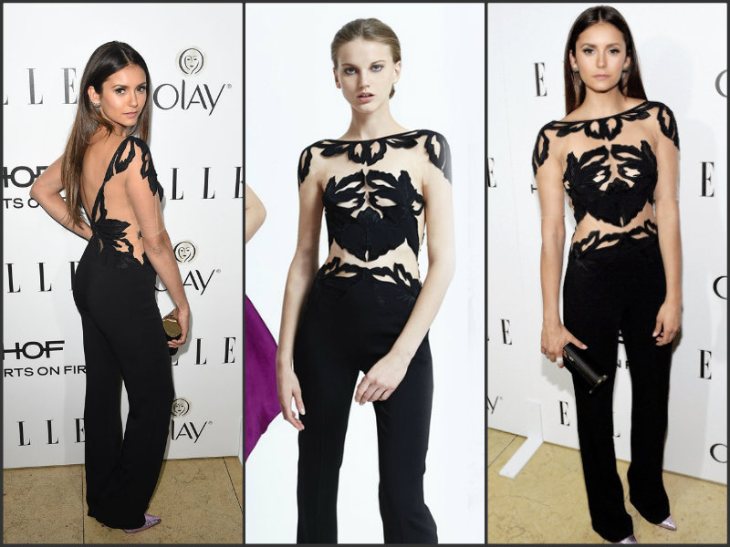 Nina-Dobrev-wears-Zuhair-Murad-at-the-2015-Elle-Annual-Women-in-Television-Celebration