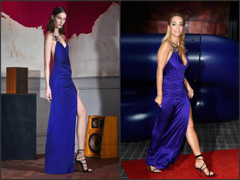 Rita-Ora-wears-Dsquared2- The Voice -UK-Photocall