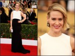 Sarah Paulson  in ARMANI   at the 2015 SAG Awards