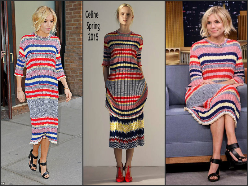Sienna-Miller- In-Celine- at -the-tonight- Show-Starring-Jimmy-Fallon