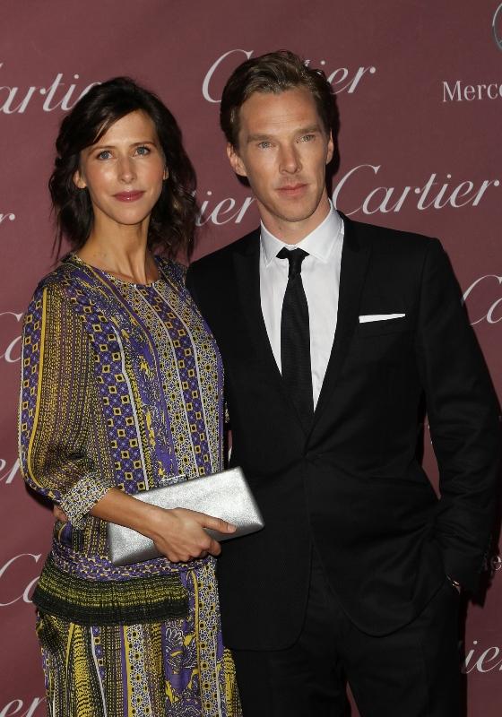 Sophie- Hunter- and -Benedict -Cumberbatch - Palm -Springs- International- Film -Festival- Film -Festival -Awards- Gala