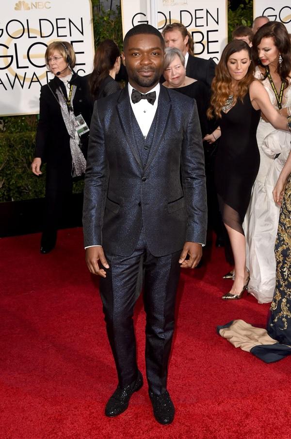 David Oyelowo in a Dolce & Gabbana suit