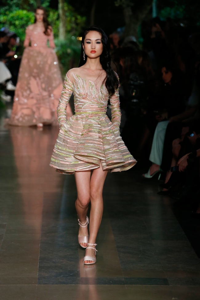Elie saab spring 2015 haute couture fashionsizzle for Haute couture 2015