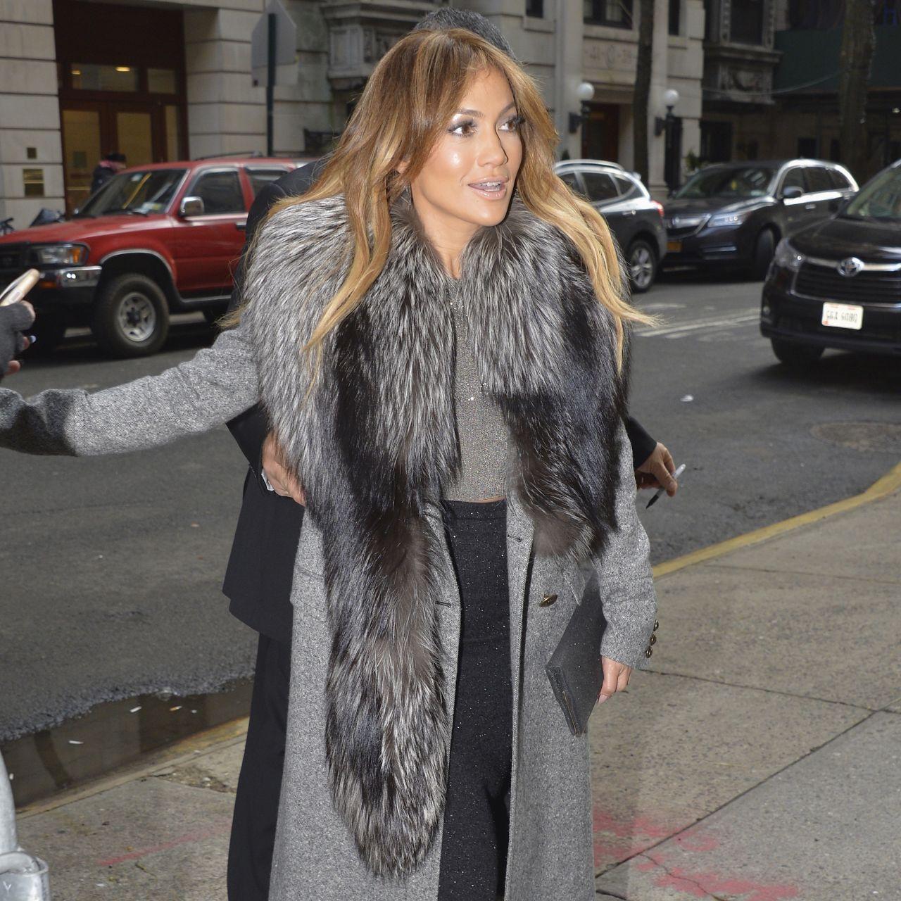 Jennifer Lopez In Roberto Cavalli Good Morning America
