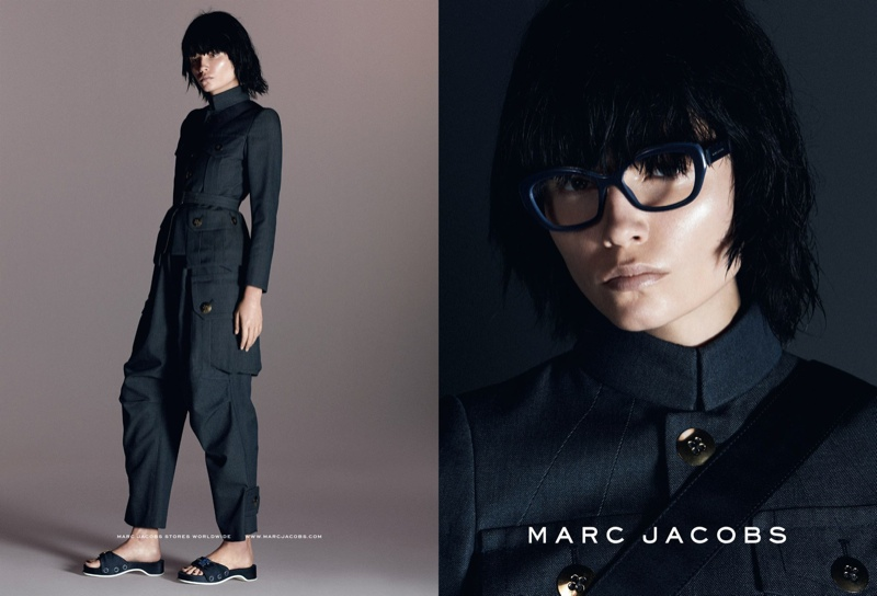 Natasha Poly for Marc Jacobs Spring/Summer 2015 Campaign