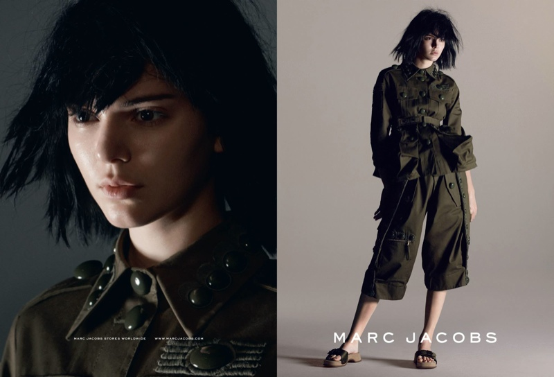 Kendall Jenner for Marc Jacobs Spring/Summer 2015 Campaign