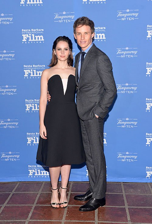 Eddie Redmayne,Felicity Jones