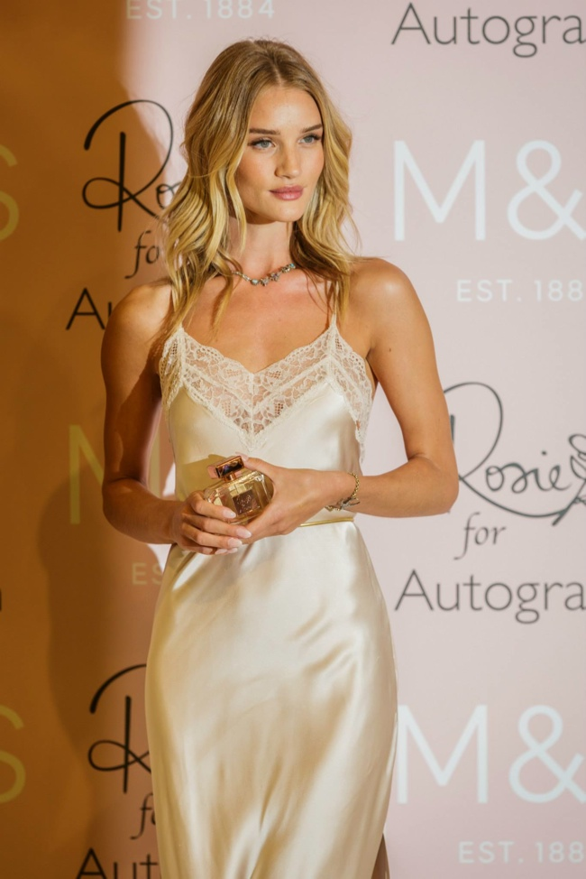 Rosie Huntington-Whiteley In Rosie for Autograph at the 'Rosie for Autograph' Fragrance Launch