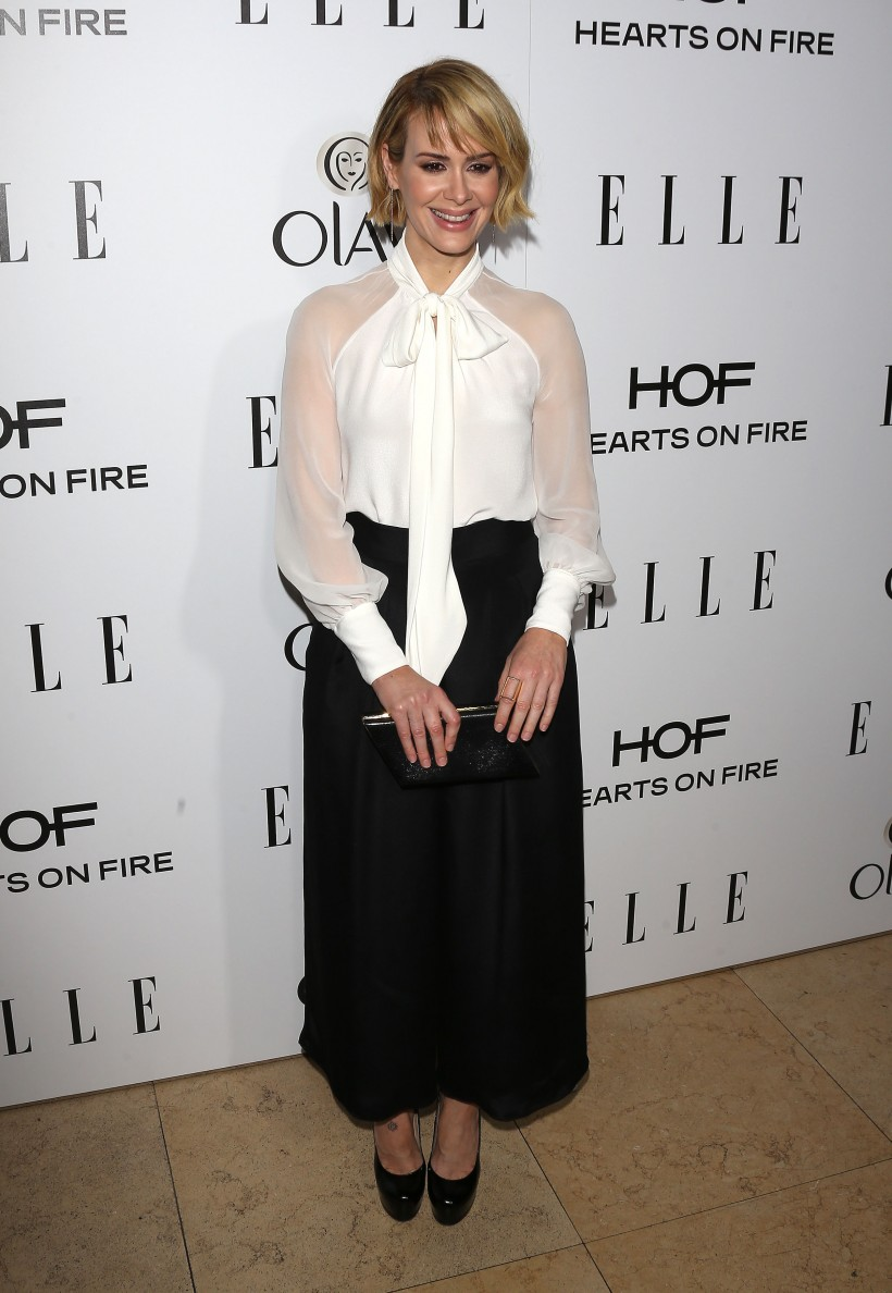 Sarah- Paulson --2015 -ELLE- Women- in -Television -Celebration