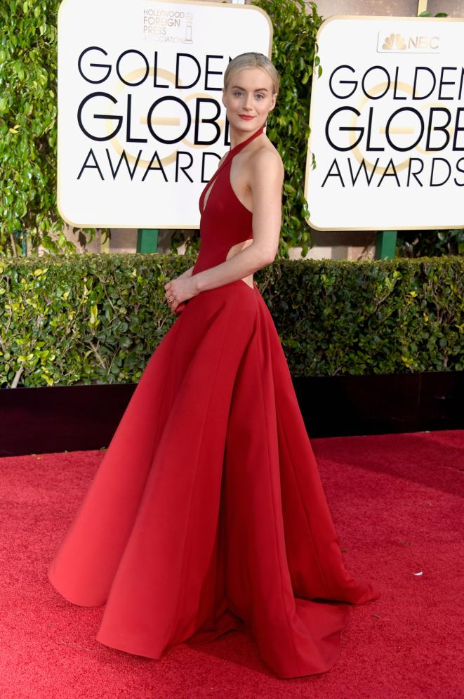 taylor-schilling-72nd-annual-golden-globes-awards- Ralph-lauren