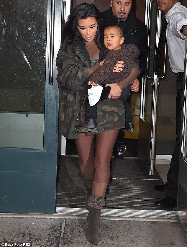 kim-kardashian-north-west-kanye-west-adidas-nyfw