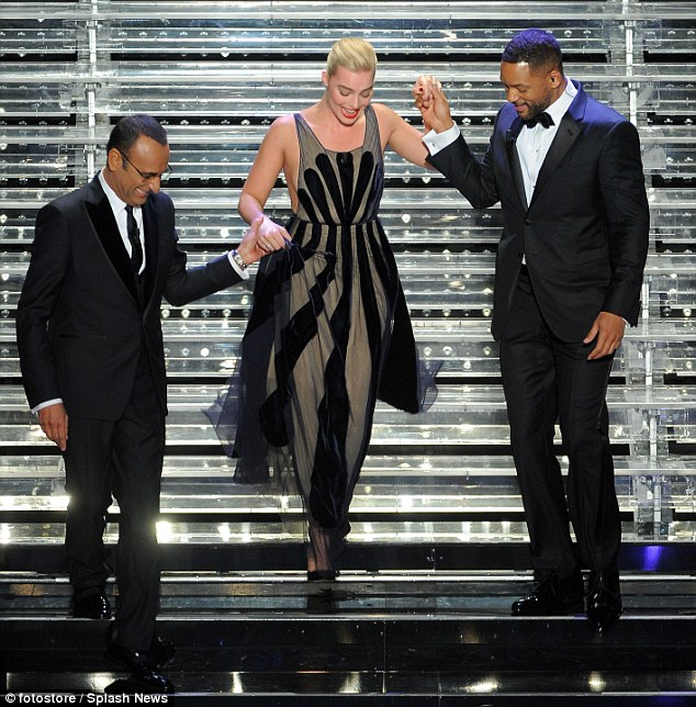Margot-Robbie-Will-Smith-Sanremo-2015-