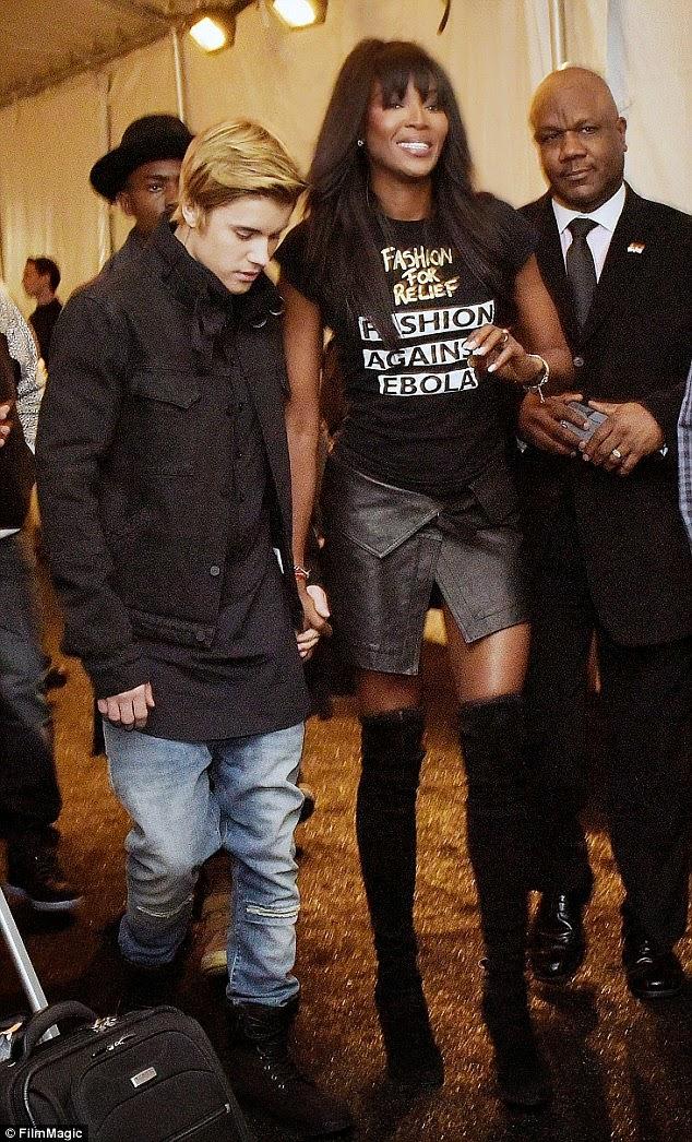 Justin Bieber and Naomi