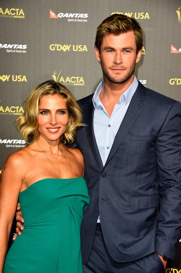 Australian actor husband Chris Hemsworth.