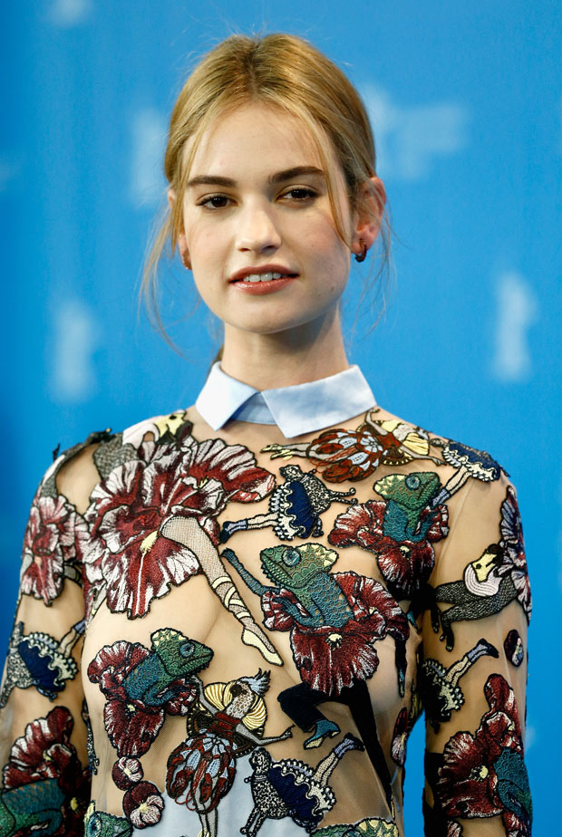 lily-james-mary-katrantzou-cinderella-berlin-film-festival-photocall