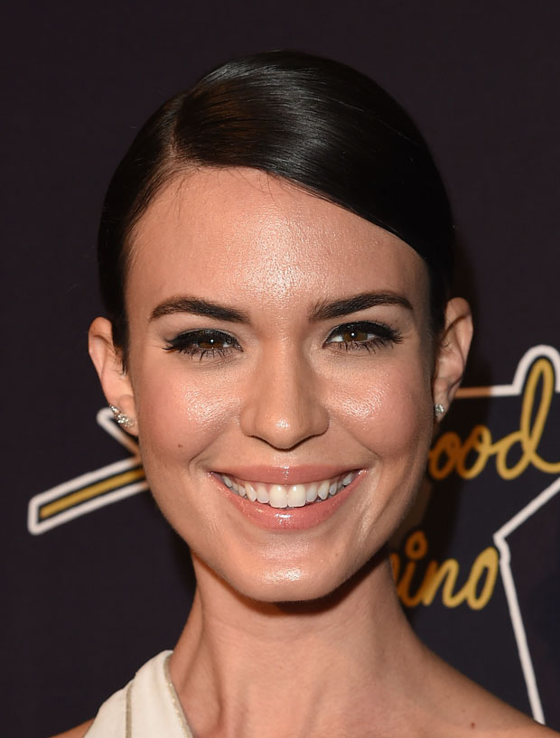 Odette Annable In Gustavo Cadile at the 8th Annual Hollywood Domino Gala
