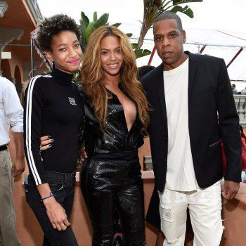 Beyonce-Kim-Kardashian-Roc-Nation-Grammy-Brunch