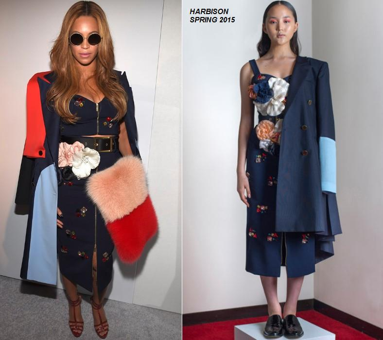 beyonce-knowles-harbison-adidas-originals-x-kanye-west-yeezy-season-1-front-row