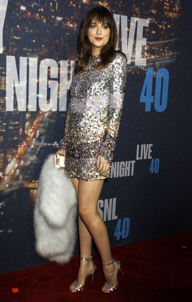 Dakota-Johnson--2015-SNL 40th-Anniversary-Special-
