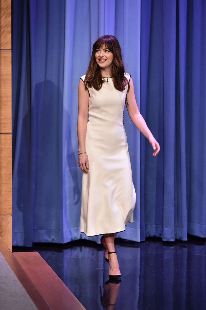 dakota-johnson-balenciaga-tonight-show-starring-jimmy-fallon